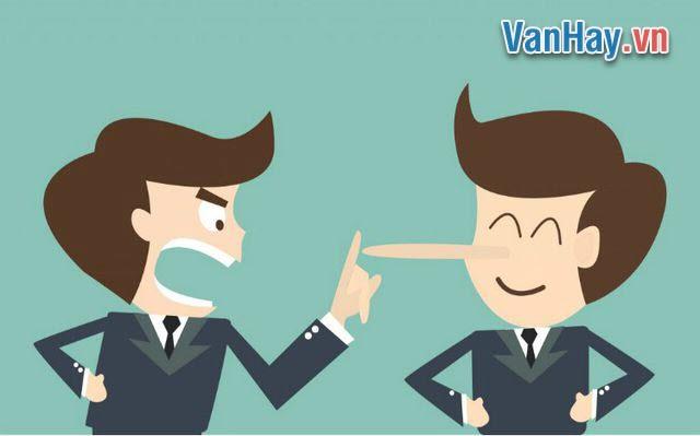 Nói dối có hại cho bản thân