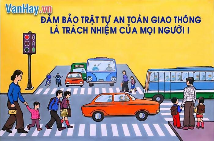 Suy nghĩ về một hiện tượng đời sống đã trở thành vấn nạn ở nước ta hiện nay: tai nạn giao thông.