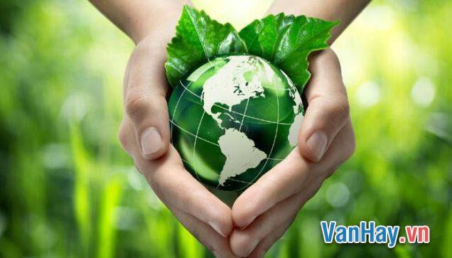 Anh (chị) làm gì để góp phần giữ gìn Trái Đất, ngôi nhà chung của chúng ta?