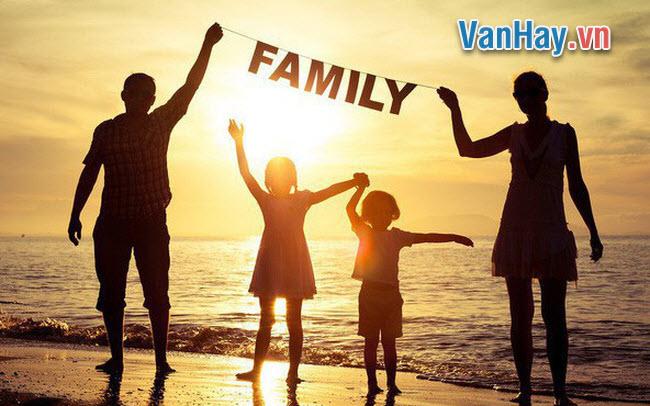 Với cảm xúc quý trọng và yêu thương, em hãy viết một bài văn nói về giá trị của gia đình trong cuộc sống con người.