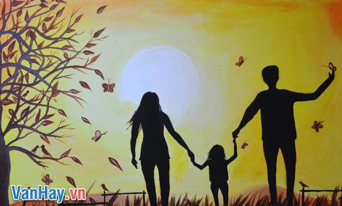 """Một họa sĩ suốt đời mơ ước vẽ một bức tranh đẹp nhất trần gian...cho nó là """"gia đình"""". Anh (chị) suy nghĩ gì về ý nghĩa được gợi ra từ câu chuyện trên?"""