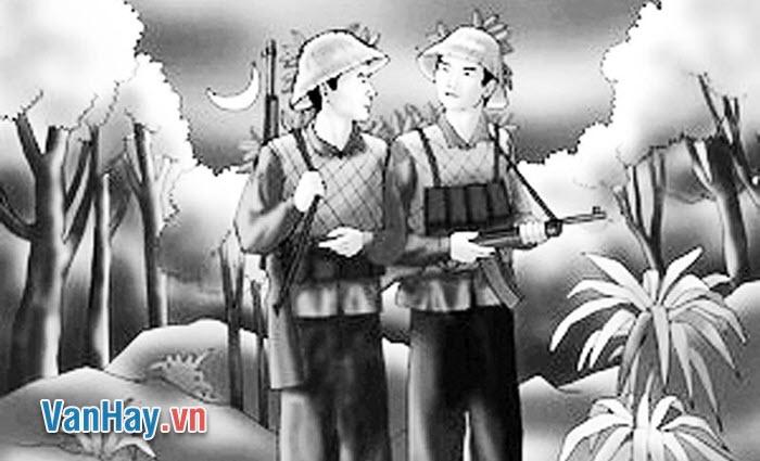 Vẻ đẹp của hai hình tượng người lính thời kì kháng chiến chống pháp trong bài thơ Tây Tiến của Quang Dũng và Đồng Chí của Chính Hữu