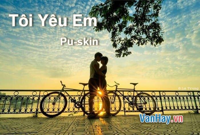 Văn phân tích: Tôi Yêu Em của Pu-skin