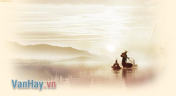 Qua bài Câu cá mùa thu(Thu điếu), hãy phân tích nghệ thuật sử dụng từ ngữ độc đáo của Nguyễn Khuyến