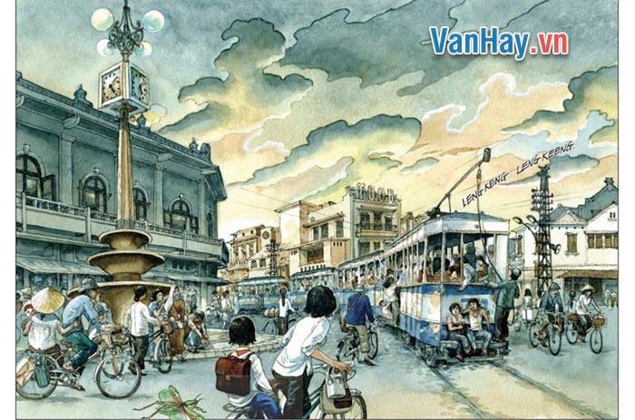 Phân tích tâm trạng chị em Liên, đêm đêm cố thức để được nhìn chuyến tàu đi qua phố huyện trong truyện Hai đứa trẻ (Thạch Lam).