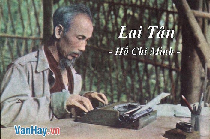 Phân tích bài Lai Tân trong Nhật kí trong tù của Hồ Chí Minh.