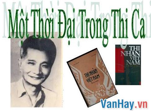 Phân tích tinh thần thơ mới được Hoài Thanh nói đến trong Một thời đại thi ca